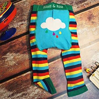 blade and rose rainbow leggings